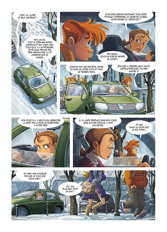 Extrait n°2 de la bd tome 2 par Denis-Pierre Filippi