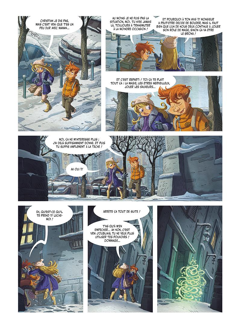 Extrait n°3 de la bd tome 2 par Denis-Pierre Filippi
