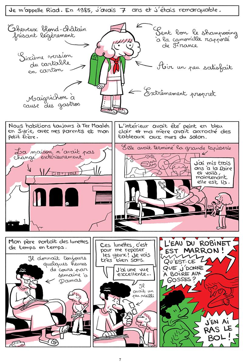 Extrait n°2 de la bd tome 3 par Riad Sattouf