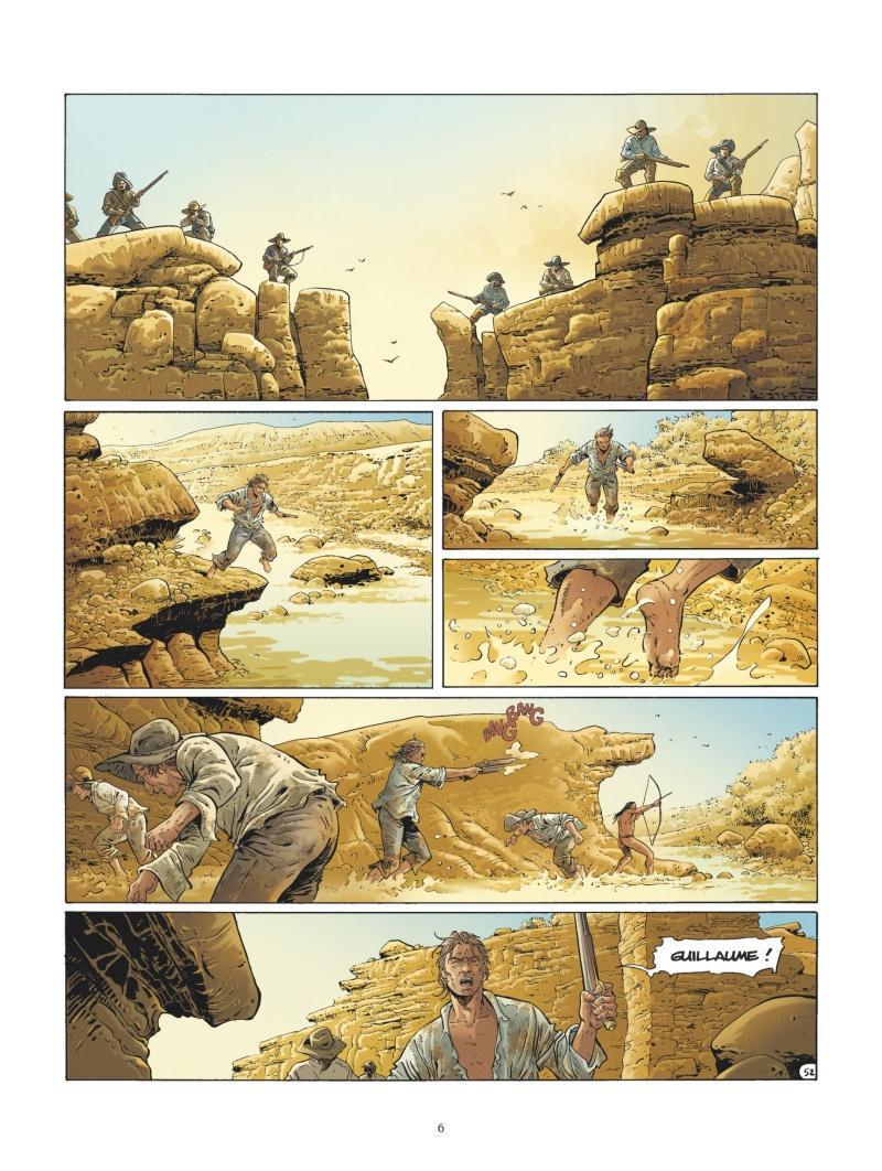Extrait n°4 de la bd tome 2 par Philippe Xavier