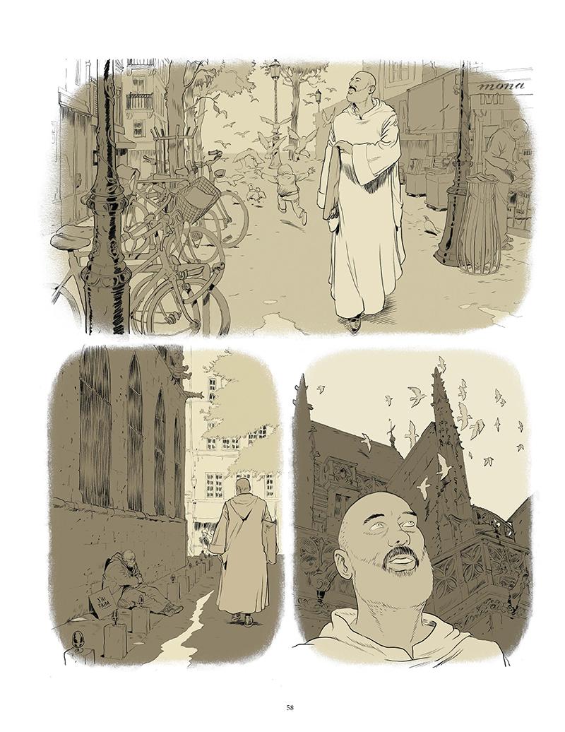 Extrait n°5 de la bd Un Bruit étrange et beau par Zep