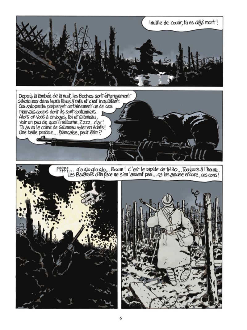 Extrait n°2 de la bd Le Dernier Assaut par Jacques Tardi
