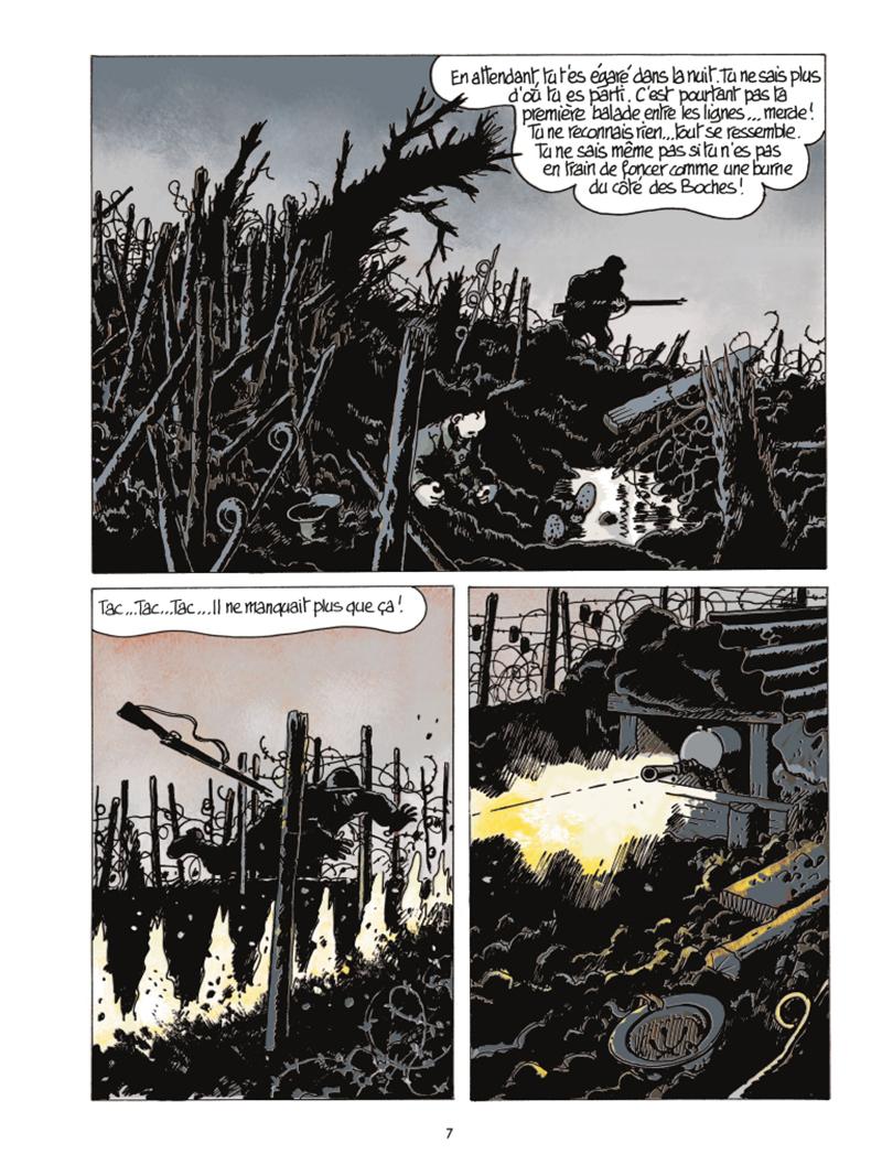 Extrait n°3 de la bd Le Dernier Assaut par Jacques Tardi