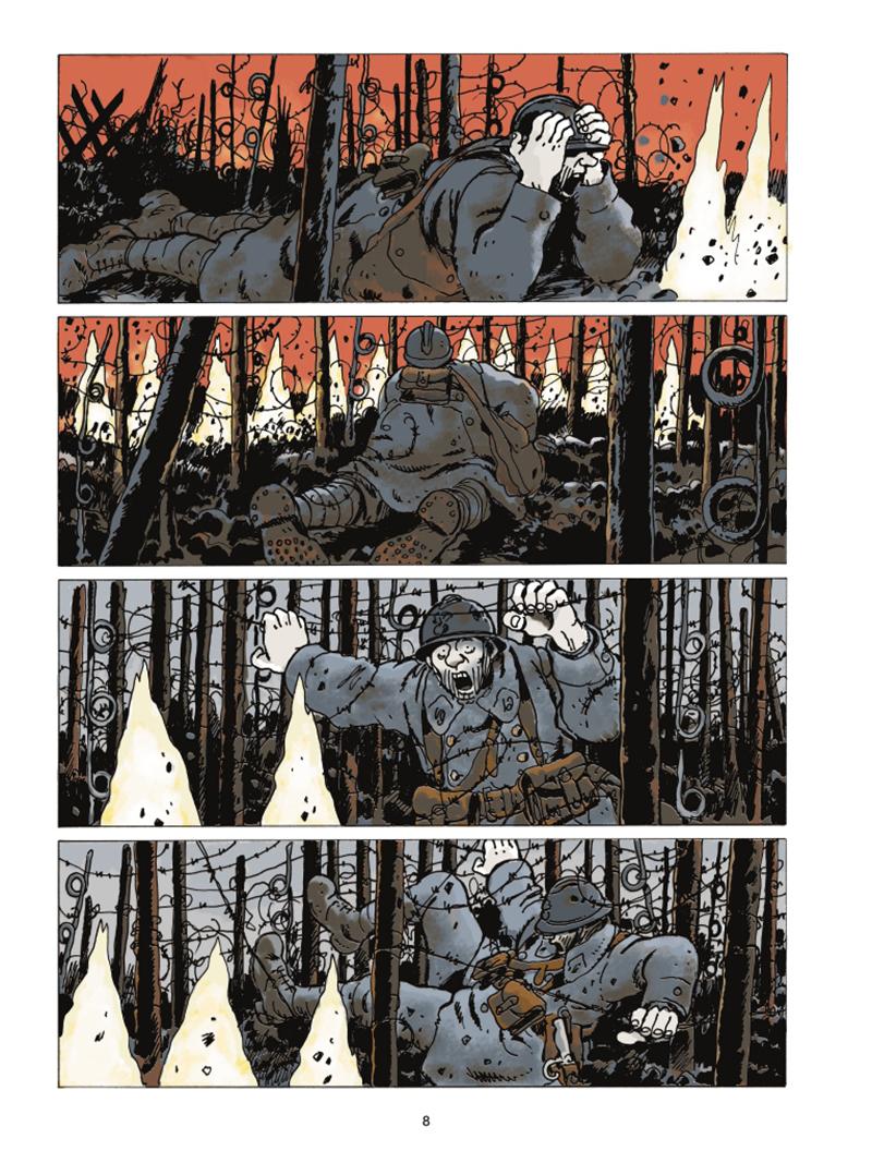 Extrait n°4 de la bd Le Dernier Assaut par Jacques Tardi