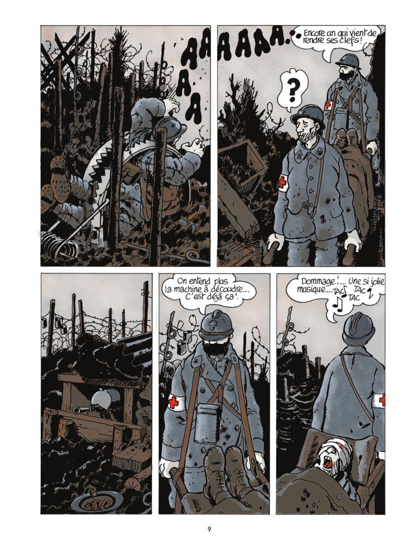 Extrait n°5 de la bd Le Dernier Assaut par Jacques Tardi