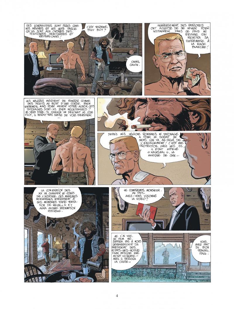Extrait n°2 de la bd tome 10 par Fred Duval