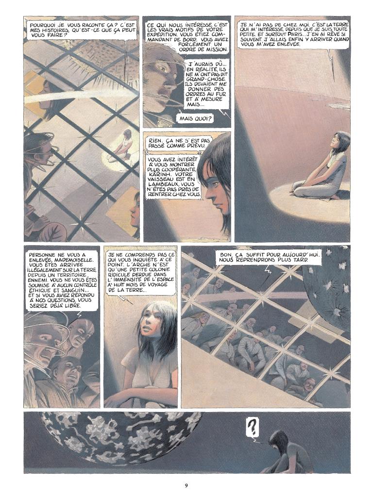 Extrait n°3 de la bd tome 2 par Benoît Peeters