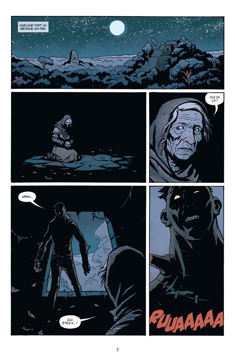 Extrait n°1 du comics Frankenstein Underground par Mike Mignola