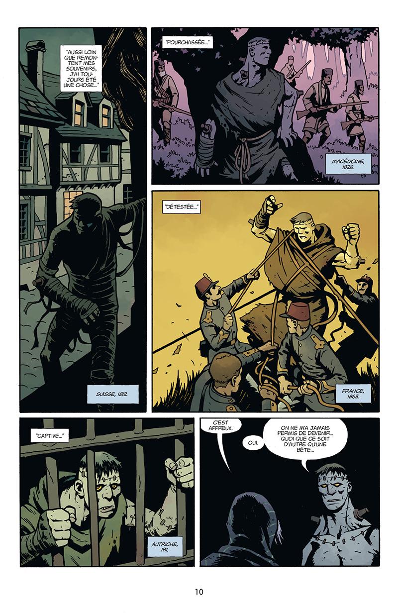 Extrait n°4 du comics Frankenstein Underground par Mike Mignola