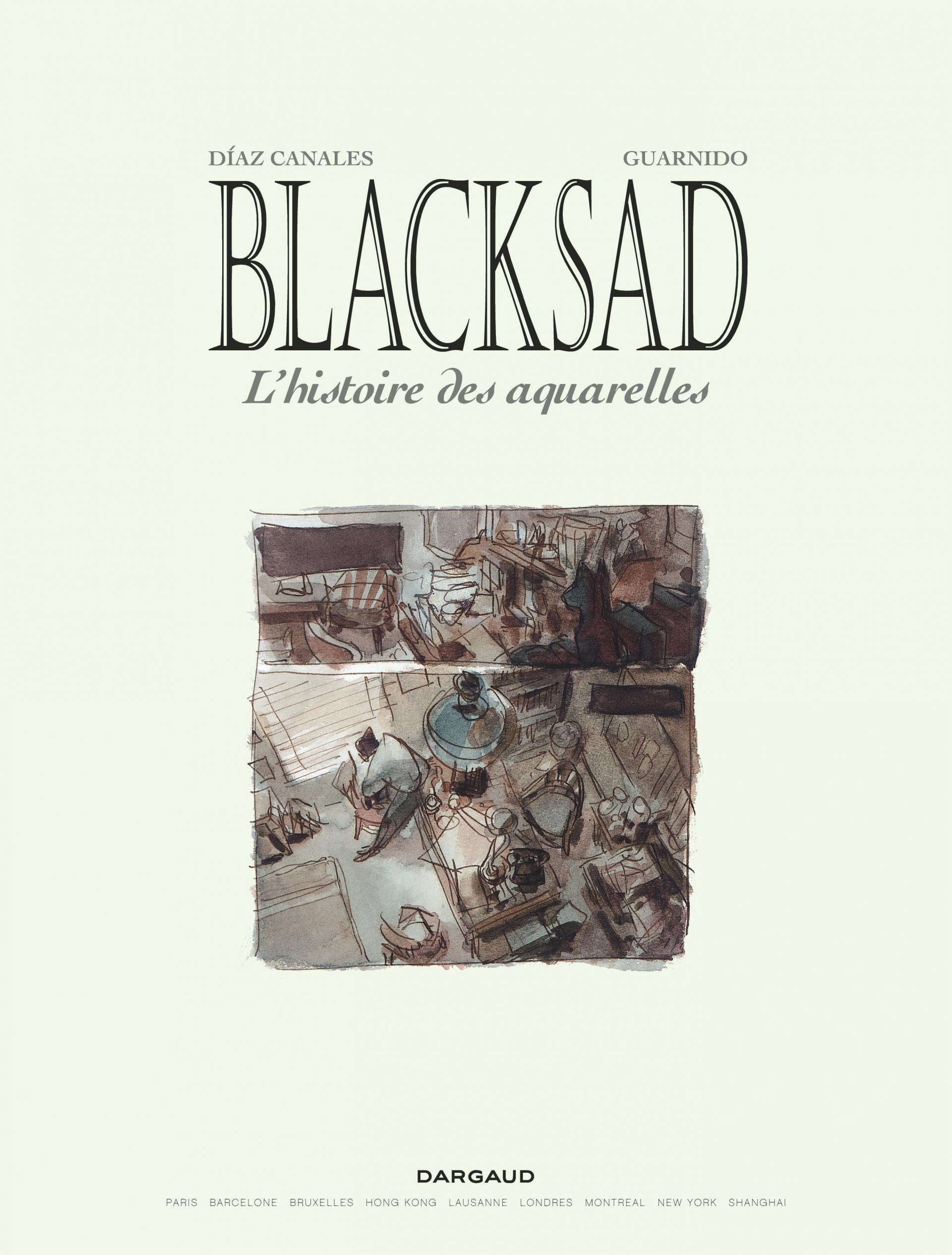Blacksad Aquarelles - intégrale