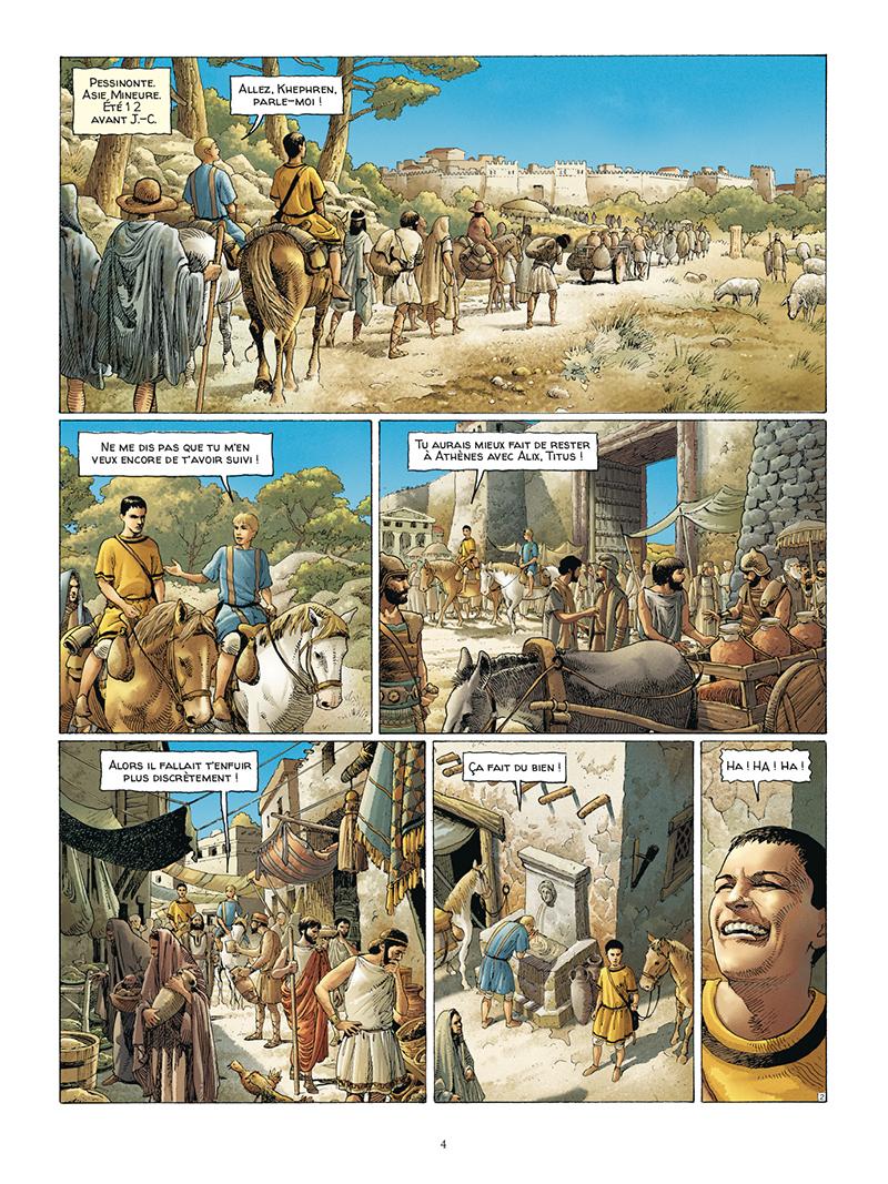 Extrait n°2 de la bd tome 5 par Jacques Martin