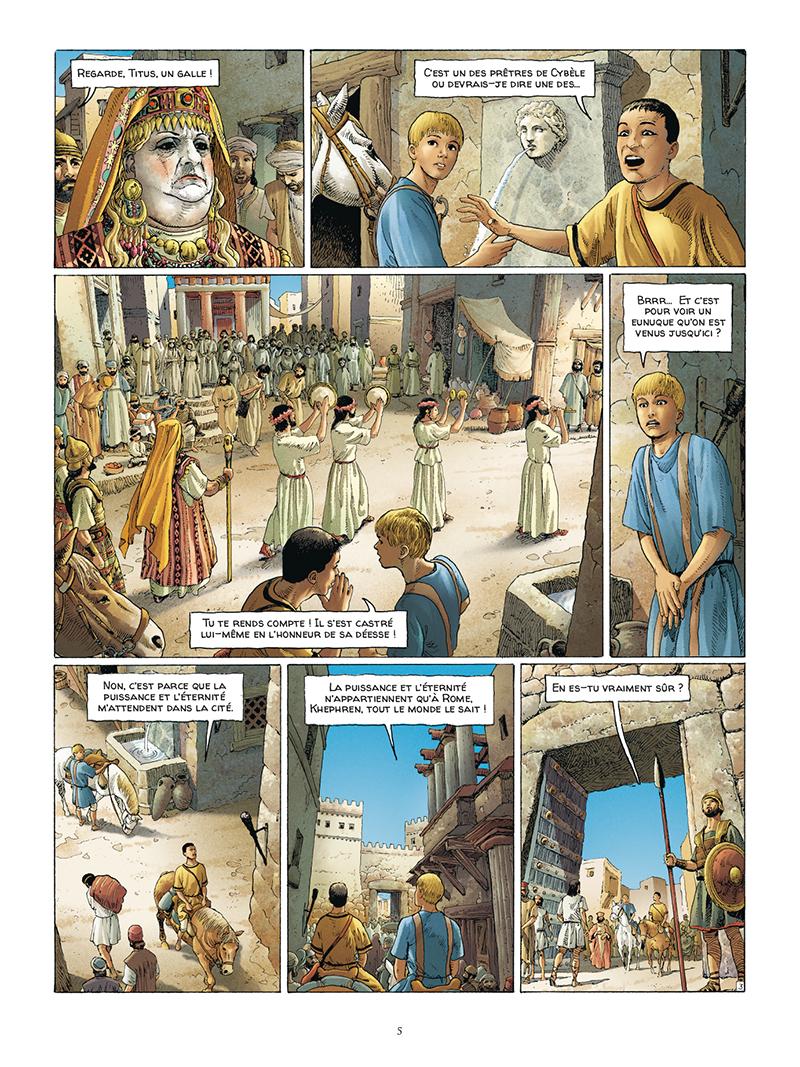 Extrait n°3 de la bd tome 5 par Jacques Martin