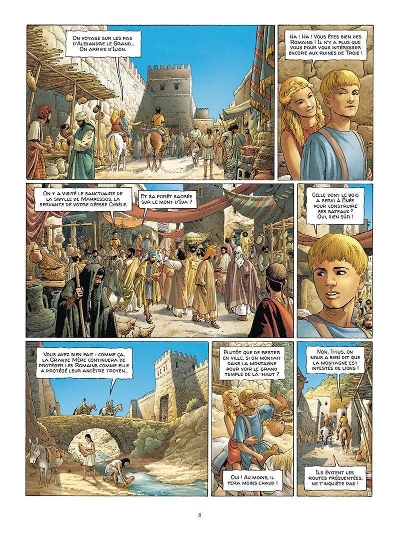 Extrait n°6 de la bd tome 5 par Jacques Martin