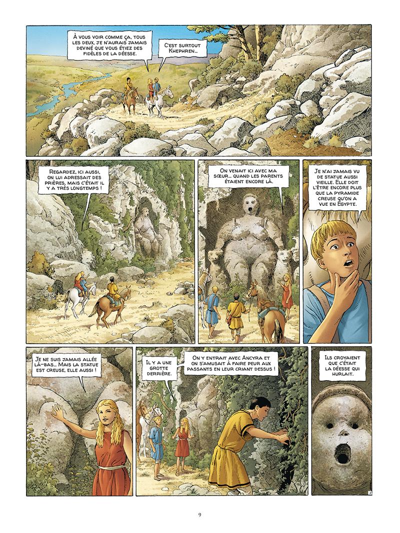 Extrait n°7 de la bd tome 5 par Jacques Martin