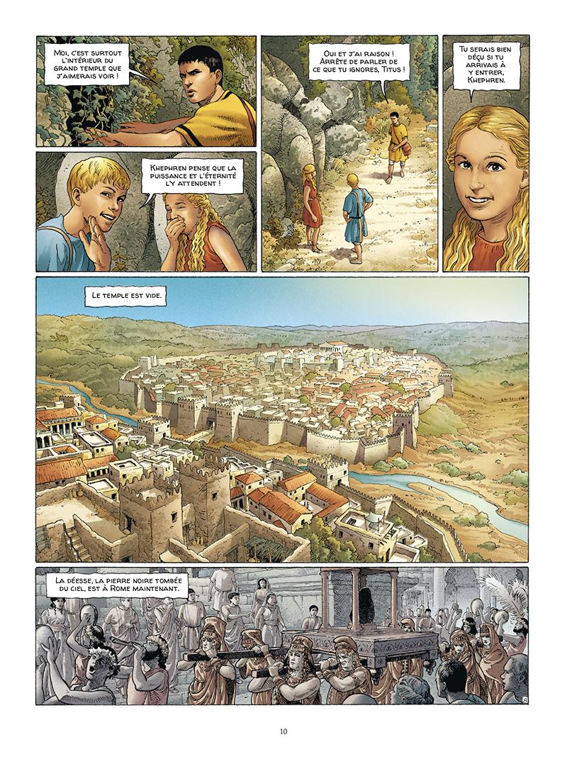 Extrait n°8 de la bd tome 5 par Jacques Martin