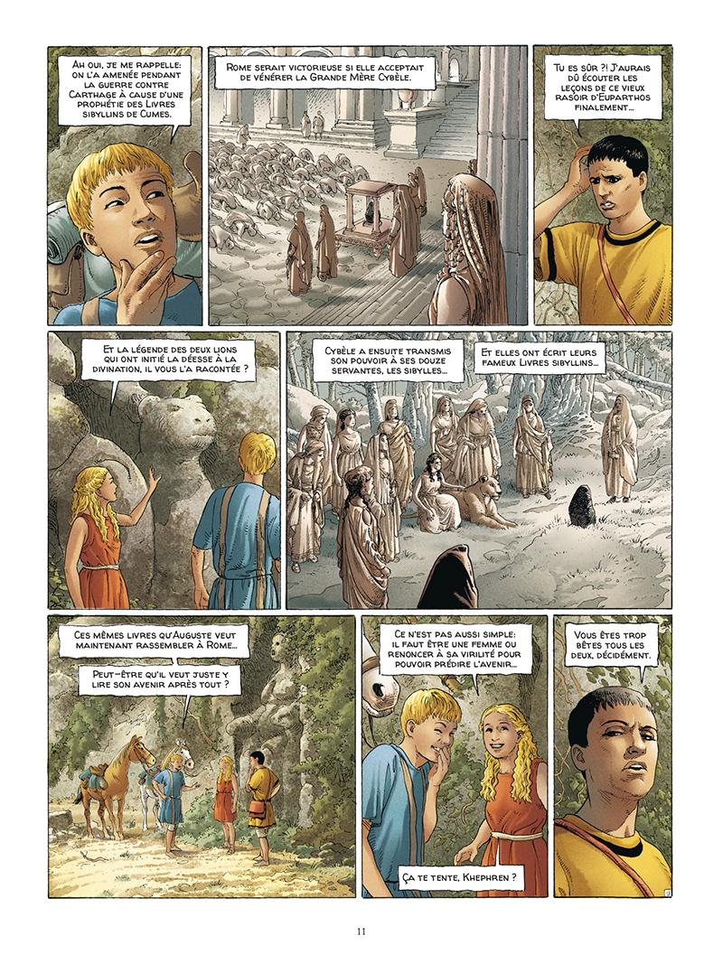 Extrait n°9 de la bd tome 5 par Jacques Martin