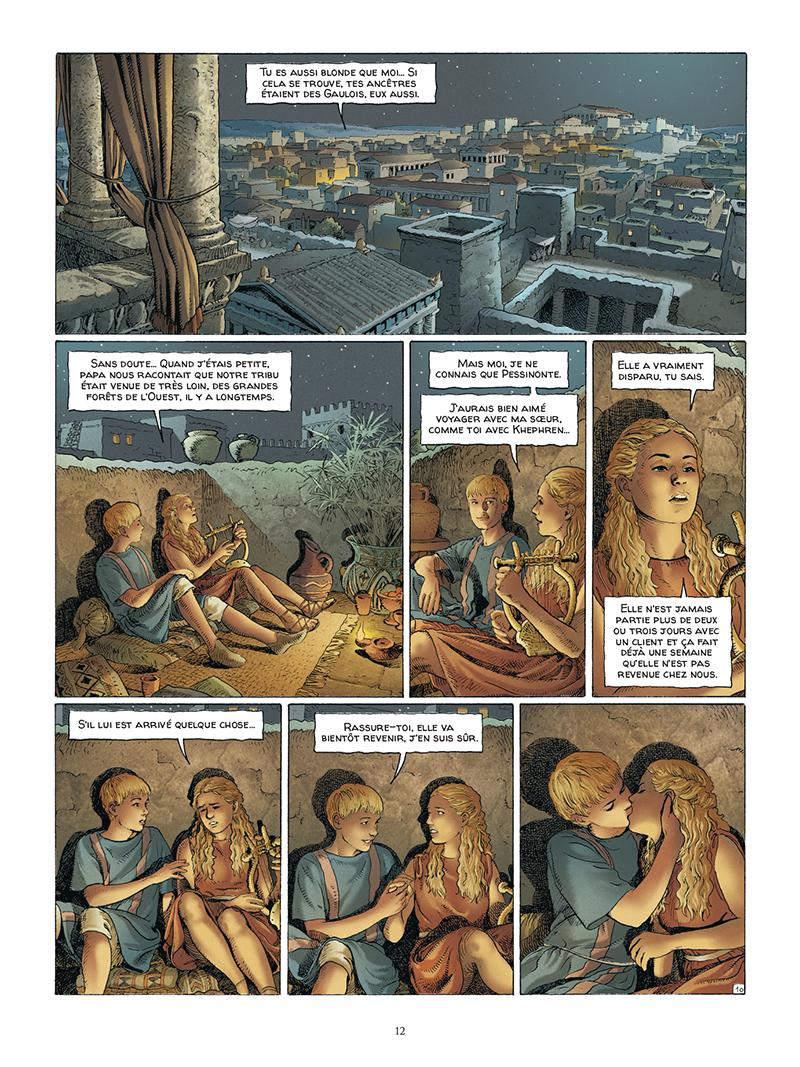 Extrait n°10 de la bd tome 5 par Jacques Martin