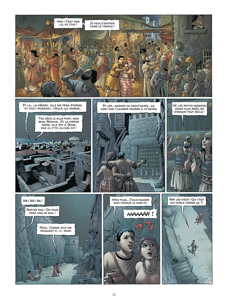 Extrait n°11 de la bd tome 5 par Jacques Martin
