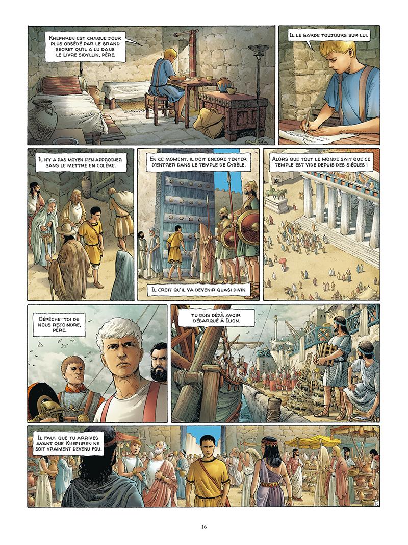 Extrait n°14 de la bd tome 5 par Jacques Martin