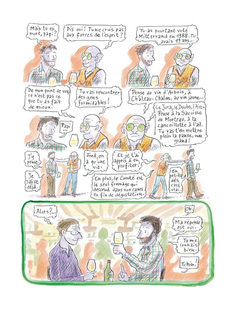 Extrait n°3 de la bd Chroniques de la fruitière par Fred Bernard