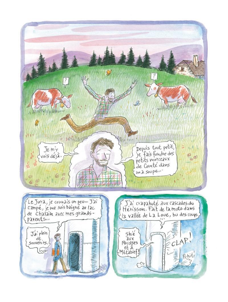 Extrait n°4 de la bd Chroniques de la fruitière par Fred Bernard