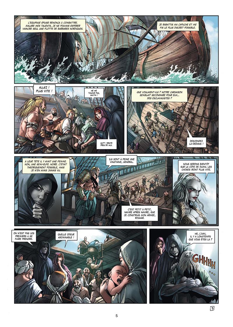 Extrait n°3 de la bd tome 15 par Stéphane Créty
