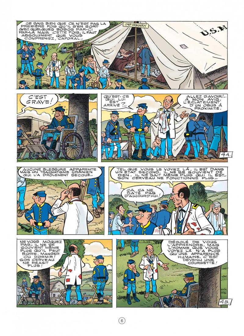 Extrait n°2 de la bd tome 60 par Lambil