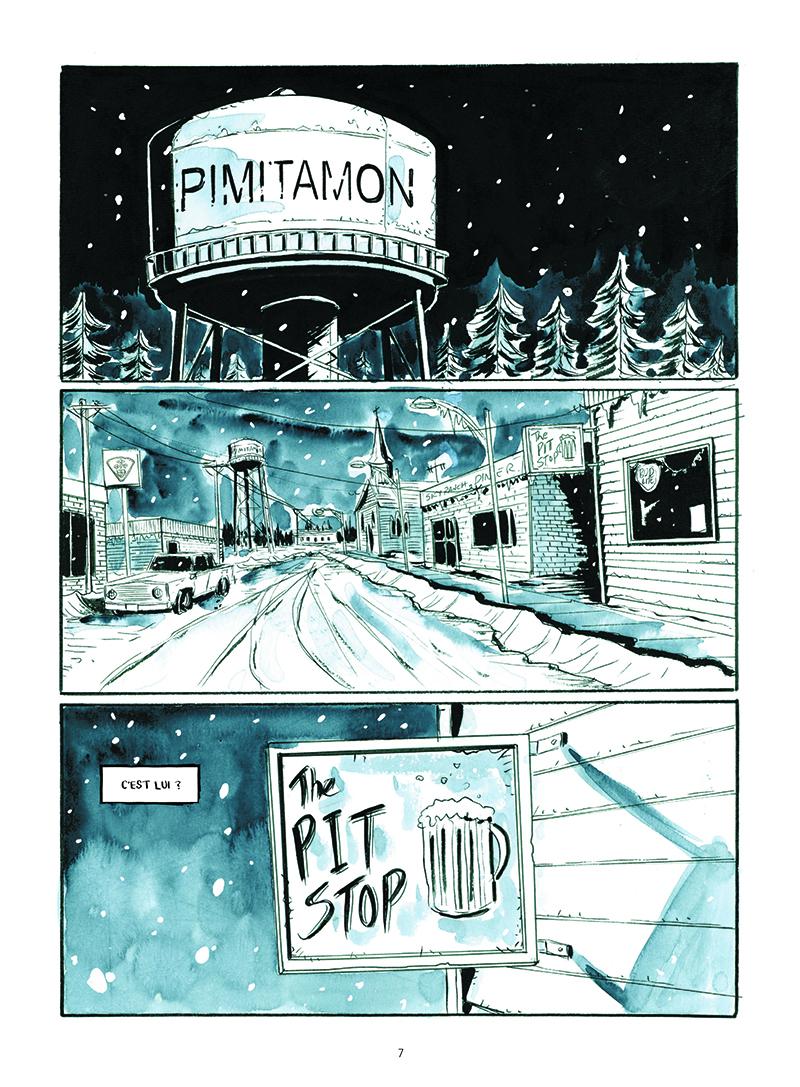 Extrait n°1 de la bd Winter Road par Jeff Lemire
