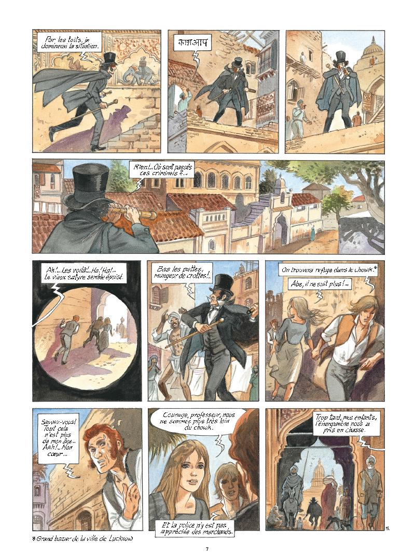 Extrait n°5 de la bd tome 9 par Maryse Charles