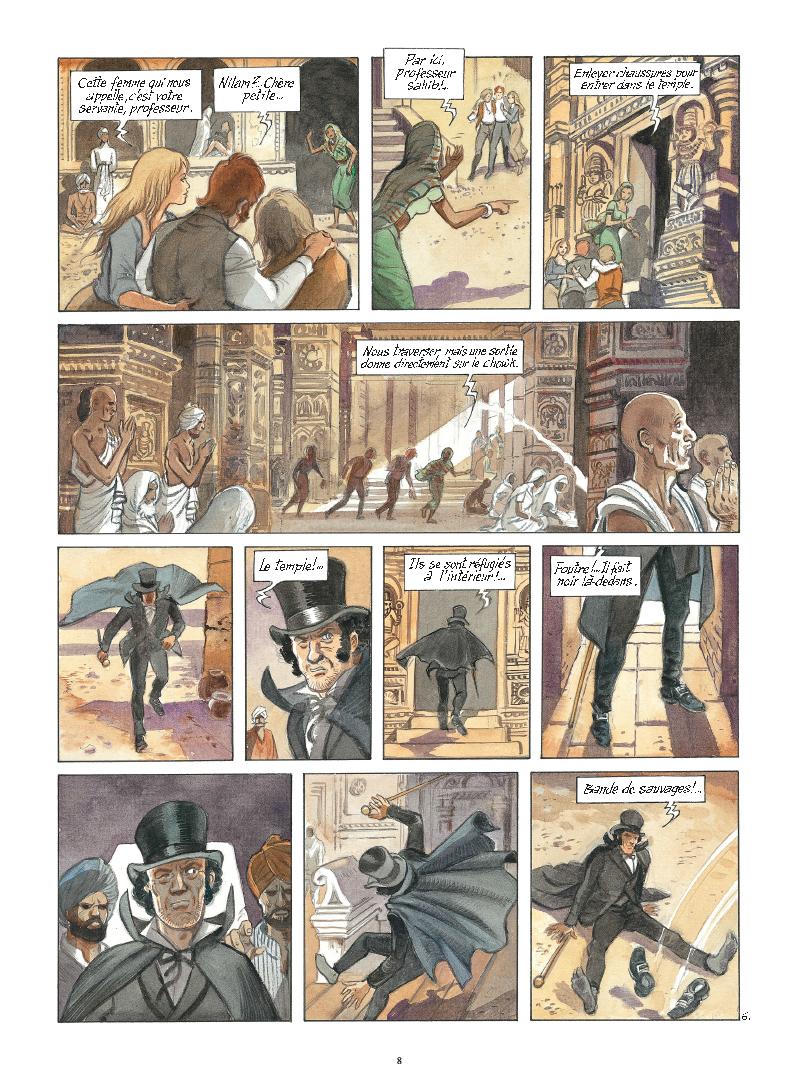 Extrait n°6 de la bd tome 9 par Maryse Charles