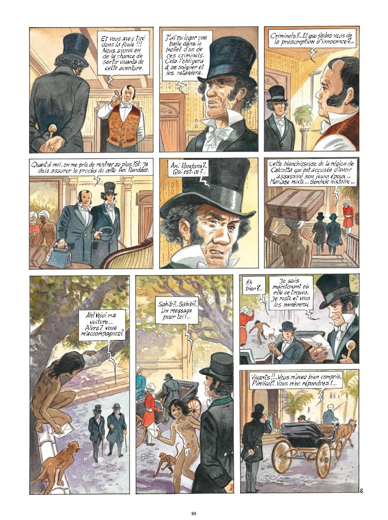 Extrait n°8 de la bd tome 9 par Maryse Charles