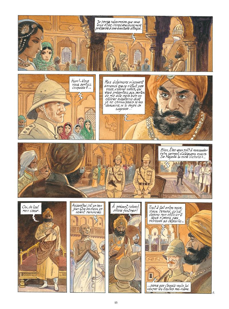 Extrait n°11 de la bd tome 9 par Maryse Charles