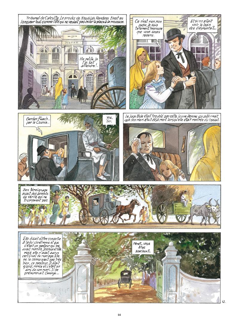 Extrait n°12 de la bd tome 9 par Maryse Charles