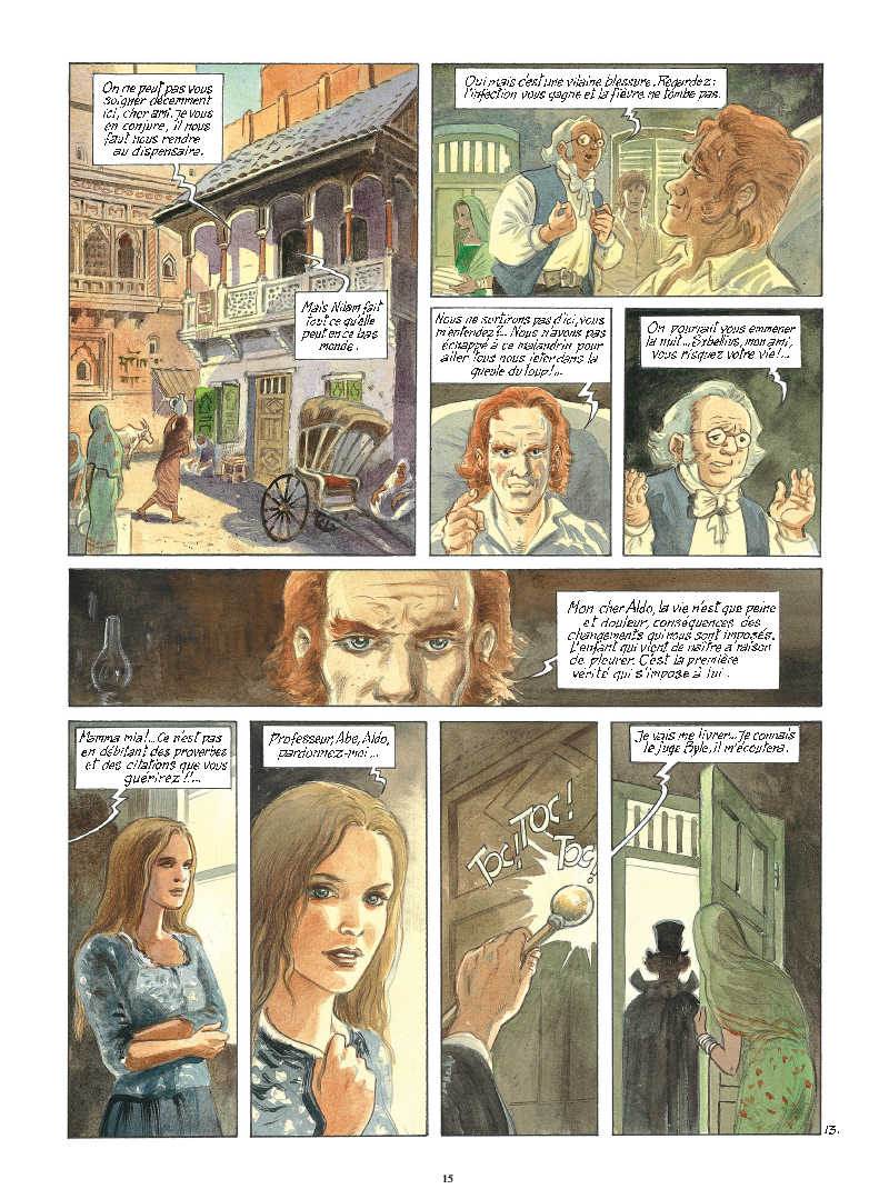 Extrait n°13 de la bd tome 9 par Maryse Charles