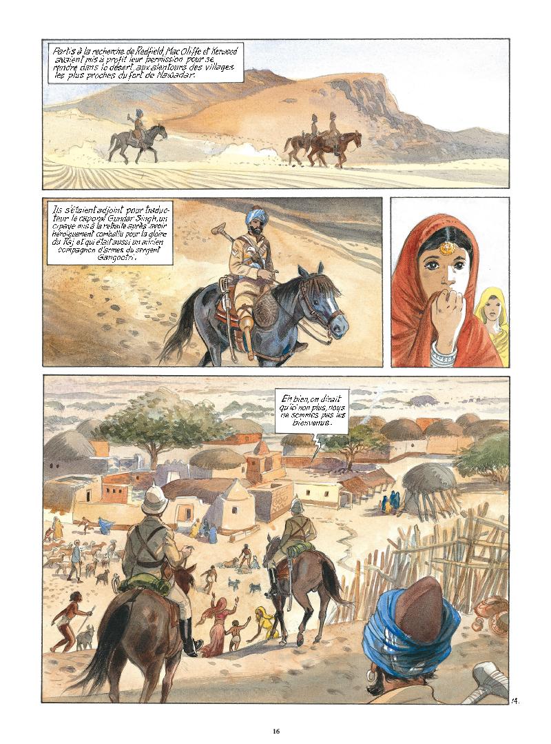 Extrait n°14 de la bd tome 9 par Maryse Charles