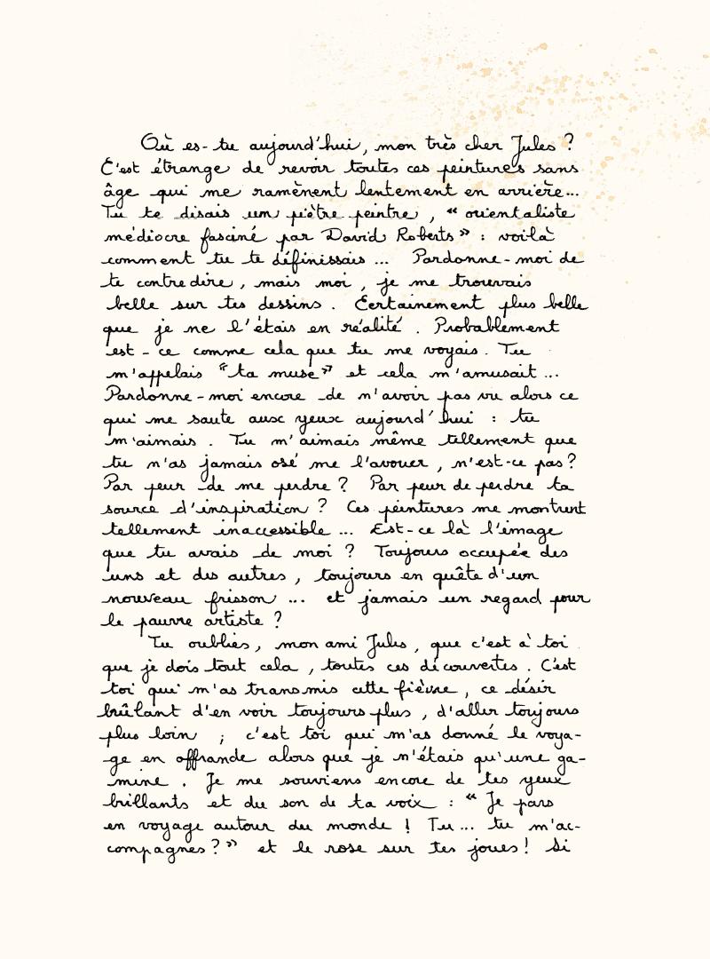 Extrait n°2 de la bd Les Voyages d'Anna par Emmanuel Lepage