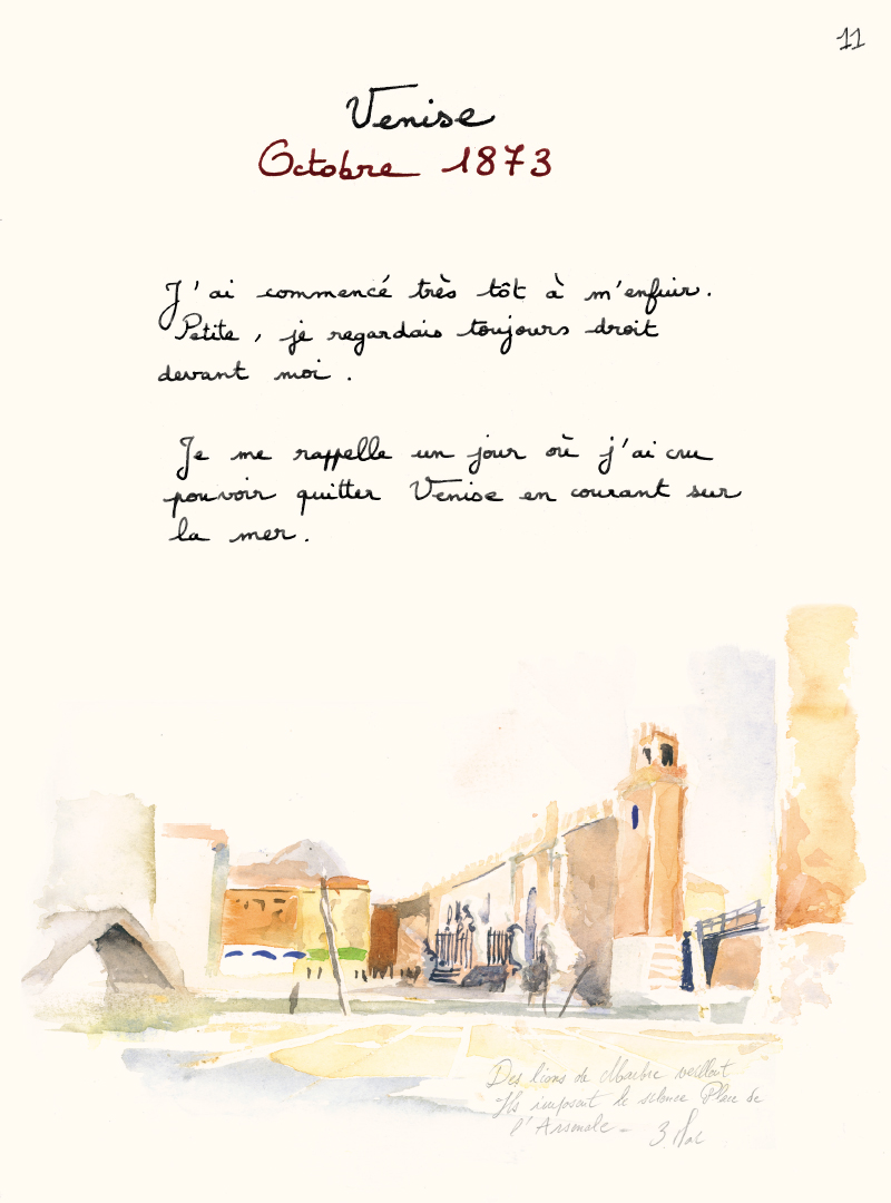 Extrait n°8 de la bd Les Voyages d'Anna par Emmanuel Lepage