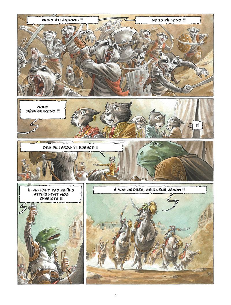 Extrait n°1 de la bd tome 1 par Sylvain Runberg