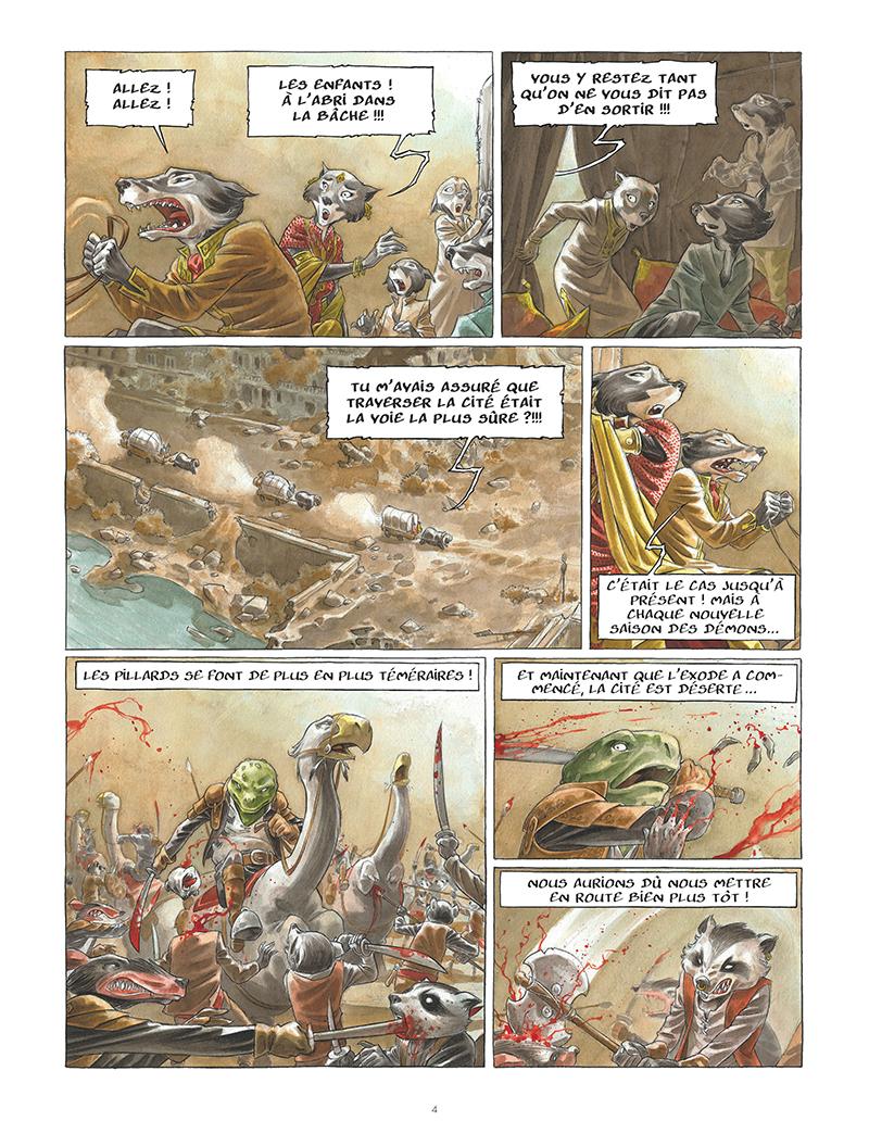 Extrait n°2 de la bd tome 1 par Sylvain Runberg