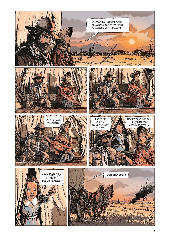 Extrait n°3 de la bd tome 1 par Benjamin Blasco-Martinez