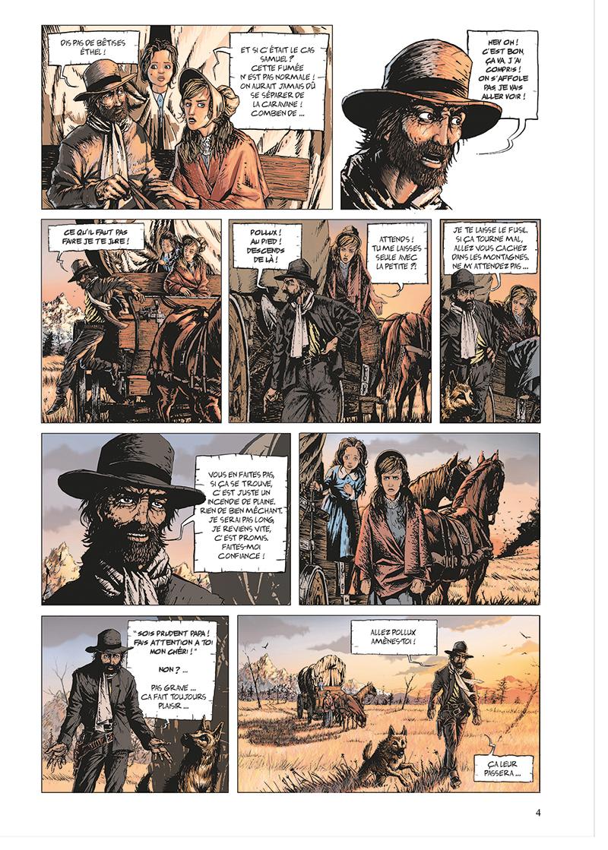 Extrait n°4 de la bd tome 1 par Benjamin Blasco-Martinez