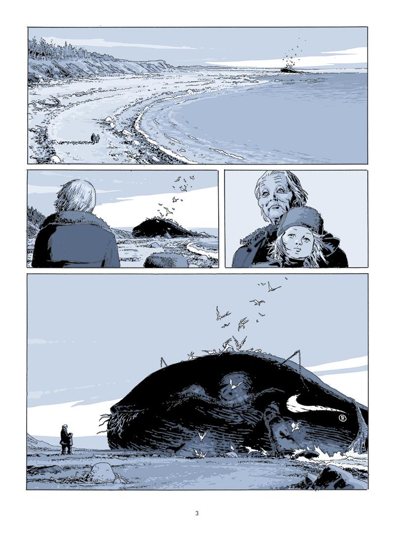 Extrait n°1 de la bd Le temps des sauvages par Sébastien Goethals