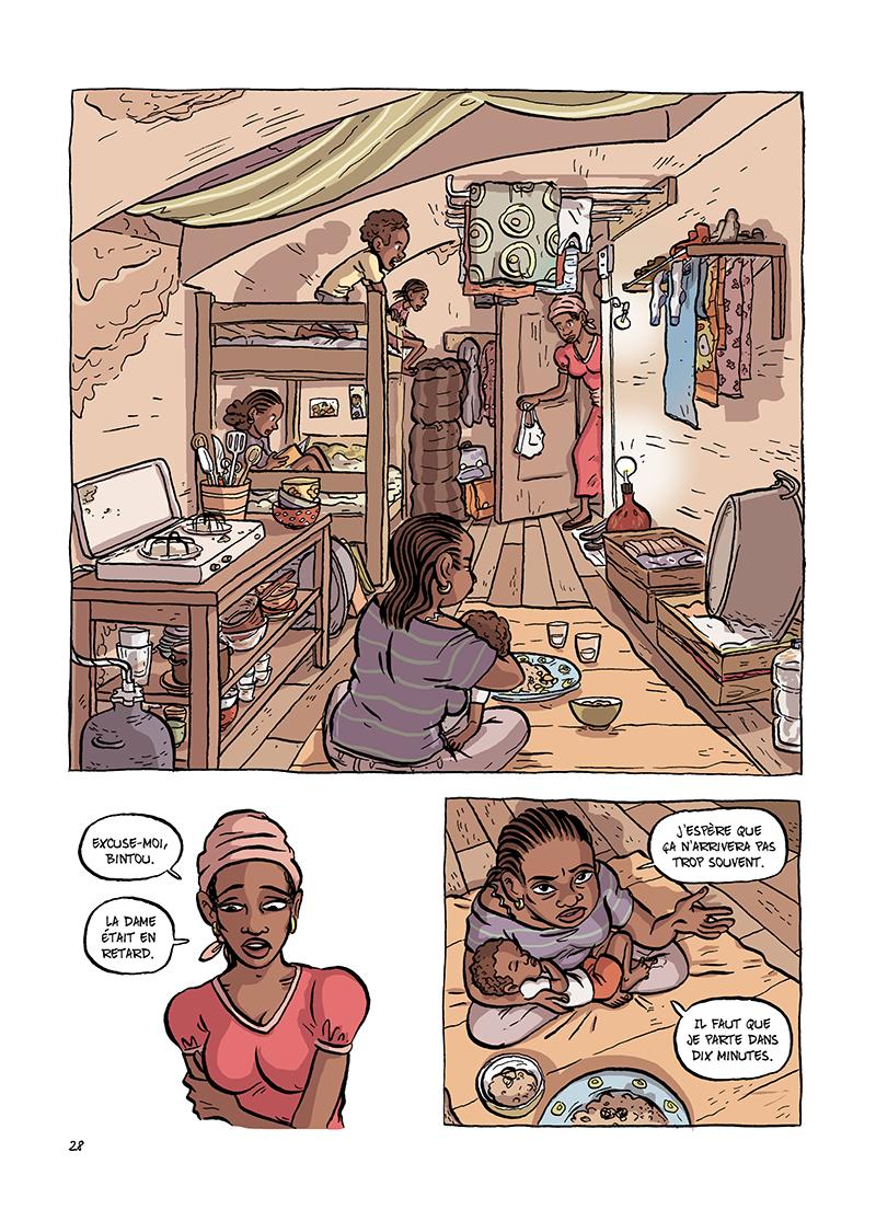 Extrait n°4 de la bd Udama chez ces gens-là par Zelba