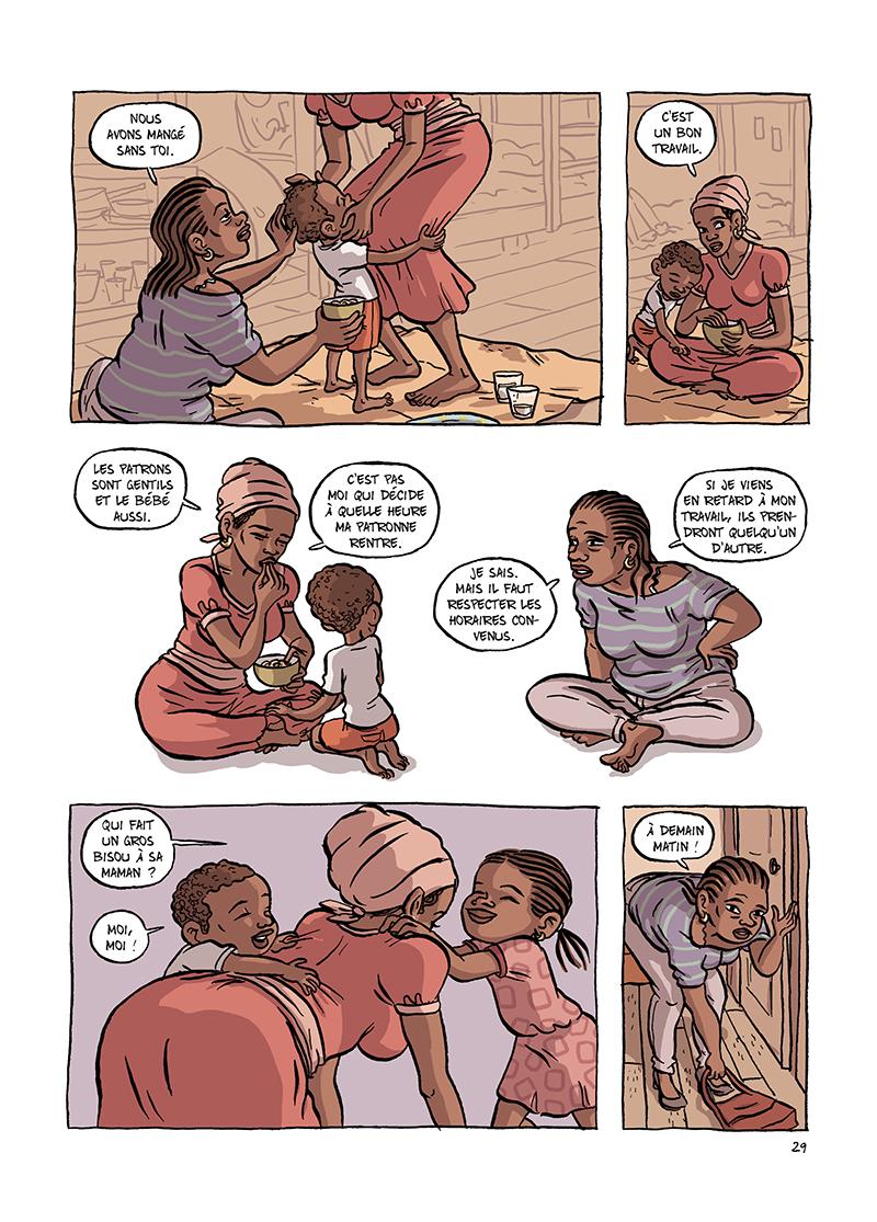 Extrait n°5 de la bd Udama chez ces gens-là par Zelba