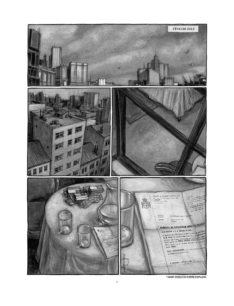 Extrait n°1 de la bd Proies faciles par Miguelanxo Prado