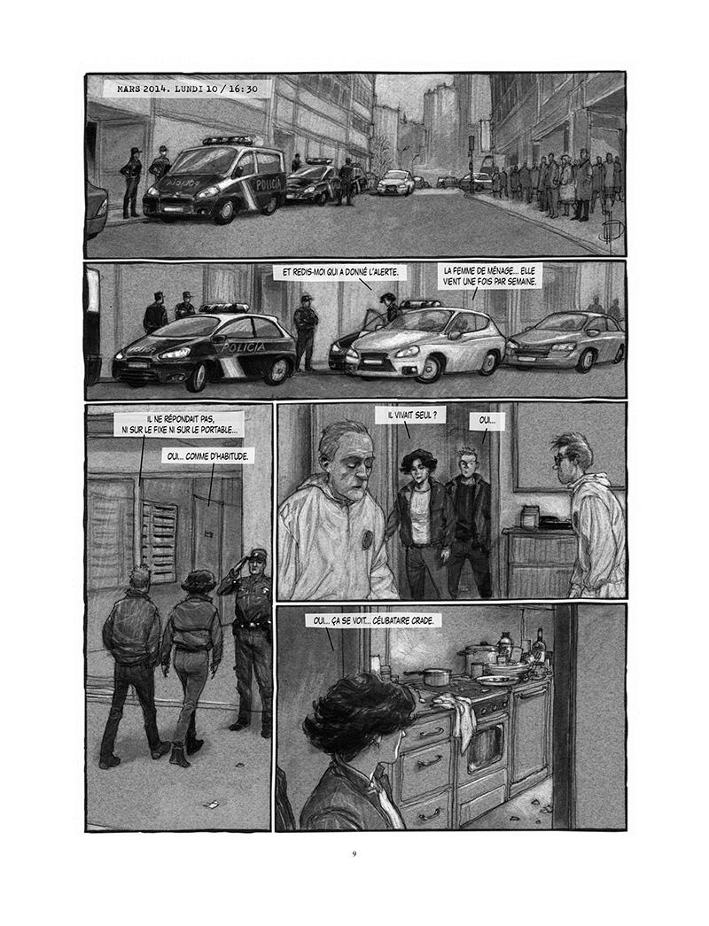 Extrait n°3 de la bd Proies faciles par Miguelanxo Prado
