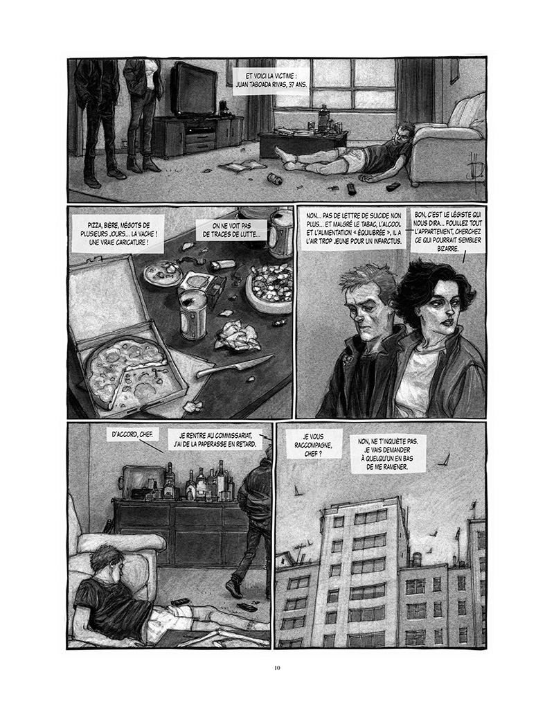 Extrait n°4 de la bd Proies faciles par Miguelanxo Prado
