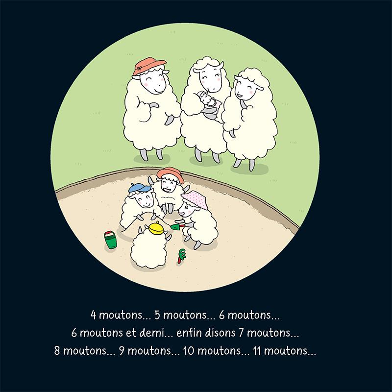 Extrait n°5 du manga Beaucoup de moutons pour un loup glouton par Mayuko Kishira