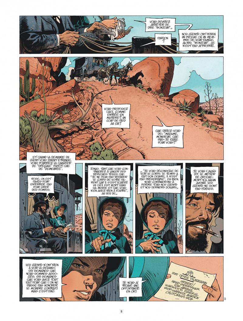 Extrait n°1 de la bd tome 3 par Xavier Dorison