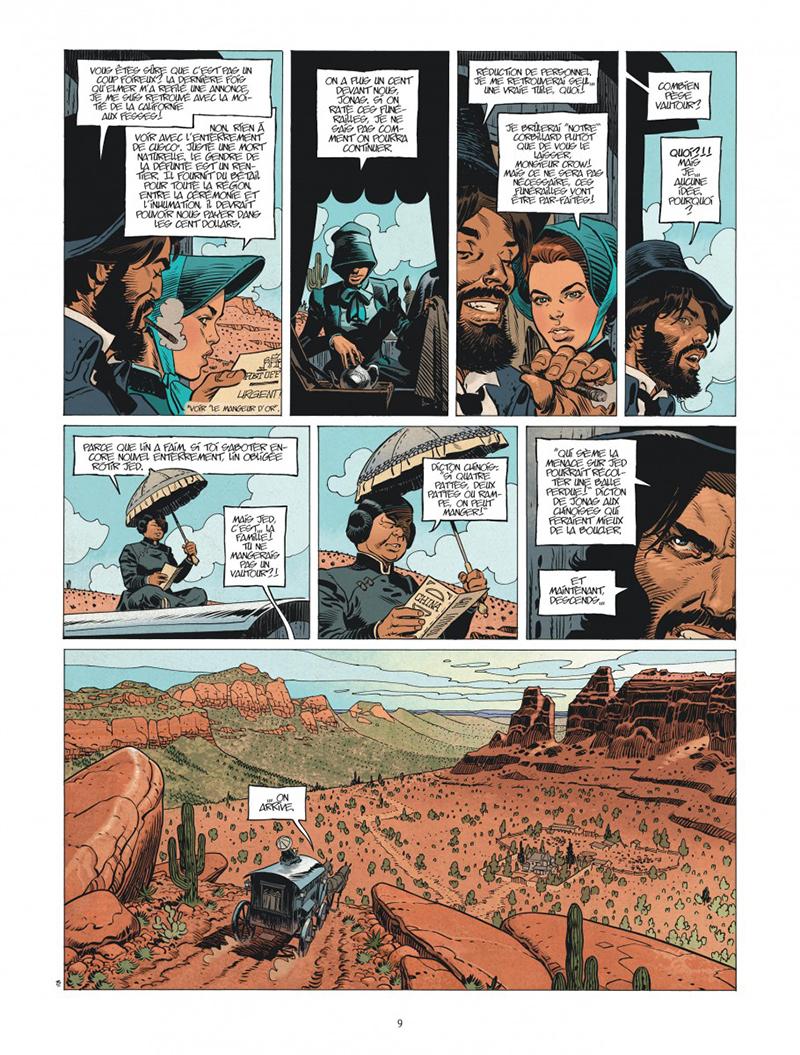 Extrait n°3 de la bd tome 3 par Xavier Dorison